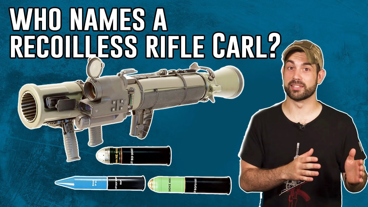 Who Names a Recoilless Rifle 'Carl'? New Laser-Guided Round