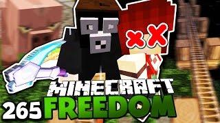 TOD DURCH AMBOSS! - RIP KAITLIN & DIE NEUE SCHULE! ✪ Minecraft FREEDOM #265 DEUTSCH | PALUTEN