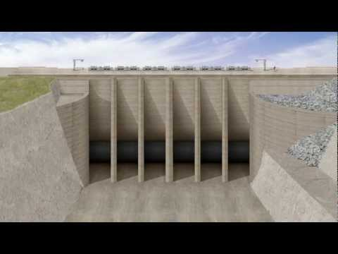 How Folsom Dam's 'second dam' will work