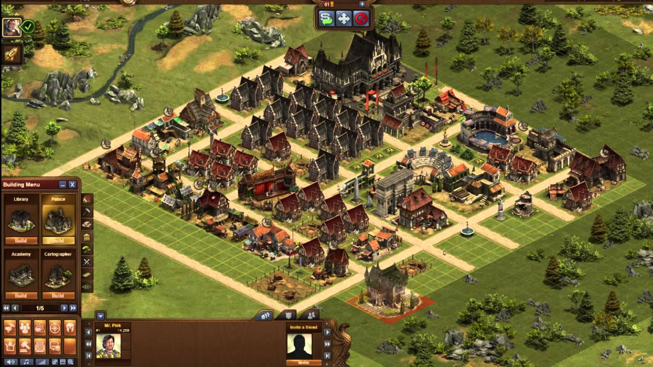 Forge of Empires - Time-lapse - YouTube