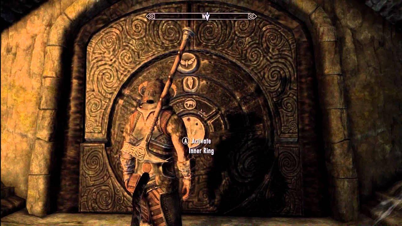 Skyrim Wallpaper Fall Skyrim Bleak Falls Barrow Puzzles Guide Hd 1080p Youtube