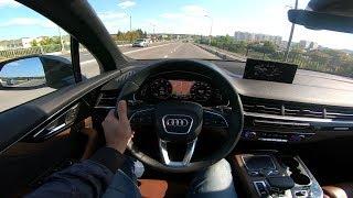 2018 Audi Q7 3.0 TDI Quattro POV Test Drive