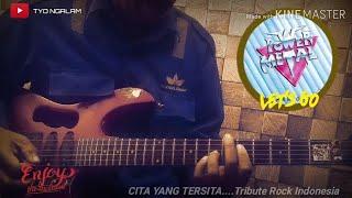 CITA YANG TERSITA - Power Metal (Guitar Cover)