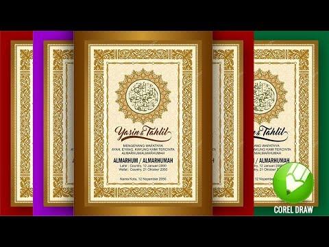 Tutorial Desain Cover Buku Yasin Coreldraw X6