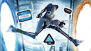 DETROIT: BECOME DUMB - Portal 2 Funny Moments and Fails (Funtage)