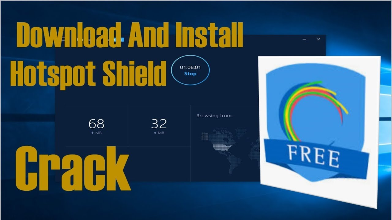 Hotspot Shield VPN Elite 7 20 8 | Lifetime Crack Free Download Tutorial |  June 2018