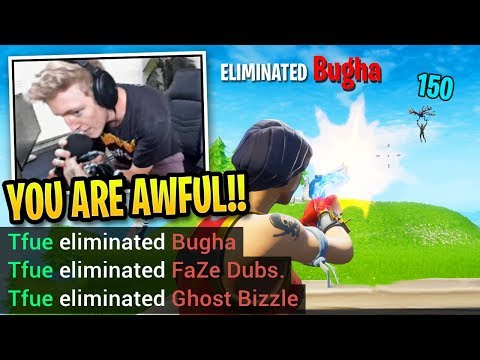 Tfue *DESTROYS* Bugha In 1v3 Then Says This...