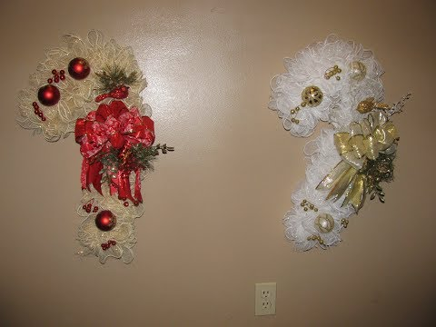 How To Make Carmen's Elegant CandyCane Wreath