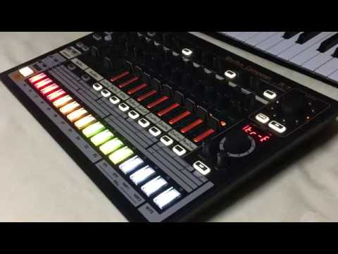 roland aira tr 8 led mod synthgraphics tr 808 style youtube. Black Bedroom Furniture Sets. Home Design Ideas