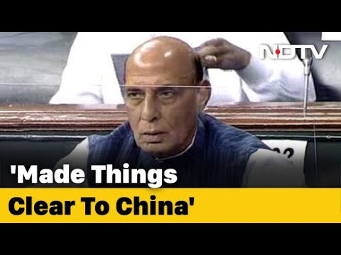In Rajnath Singh's Comments To Parliament, Strong Warning To China