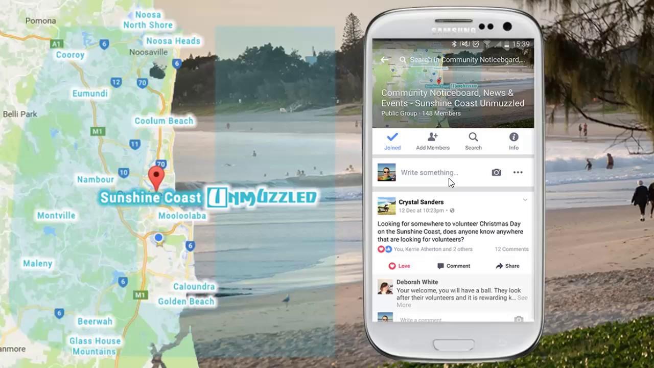 Sunshine Coast Unmuzzled Facebook Groups The What Why And How - Map of usc sunshine coast