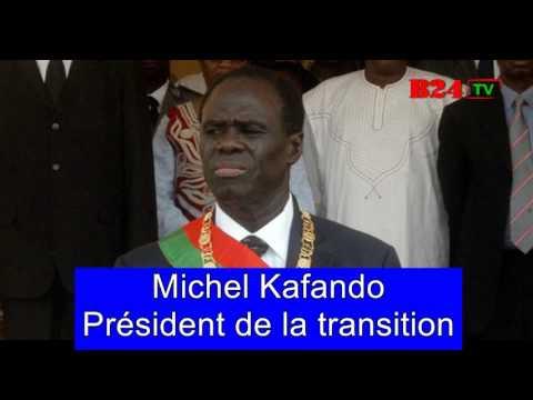 Michel Kafando s'adresse à la nation