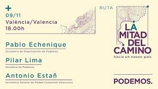 Ruta 'La mitad del camino. Hacia un nuevo país'. Valencia