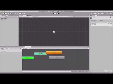 001 Importing Assets And Creating Player Animations (Jump Hero)