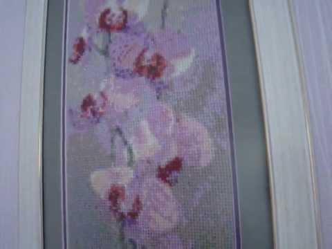 Вышивка крестом Мамина орхидея