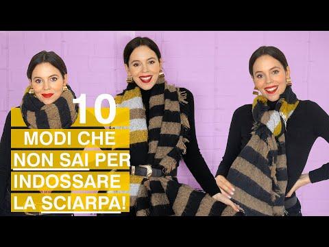 Come indossare una sciarpa o un foulard: 10 modi (che forse non conosci)!