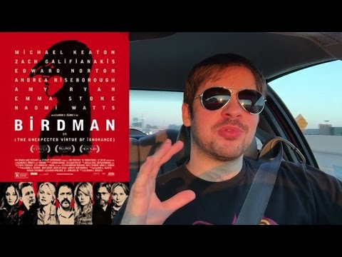 Birdman - Movie Review (full length weird version)
