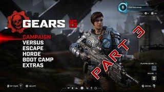 Gears 5 Compaingn Walkthrough Part 3 Xbox One X