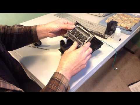 HP Design Jet 500 Printer Service Station Maintenance Part 1
