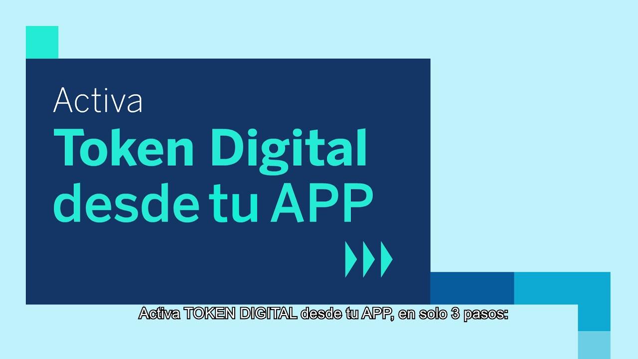 ¿Cómo activar tu Token Digital?