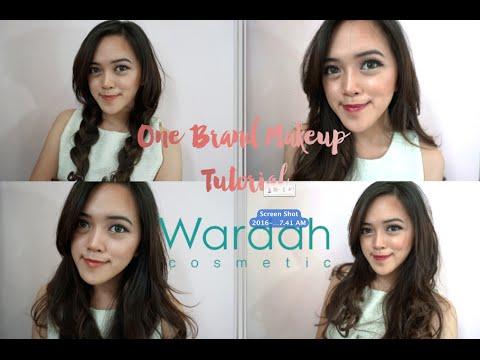 One Brand Makeup Tutorial Wardah Cosmetics | Laura Marghareta
