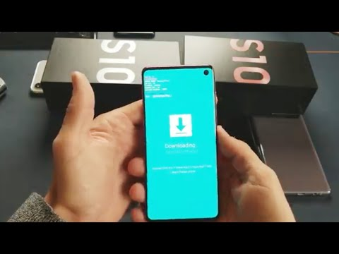"""Galaxy S10, S10+, S10E: How To Enter/Exit Download Mode (""""Downloading... Do Not Turn Off Target"""")"""