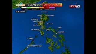 QRT: Weather update as of 5:59 p.m. (May 11, 2018)
