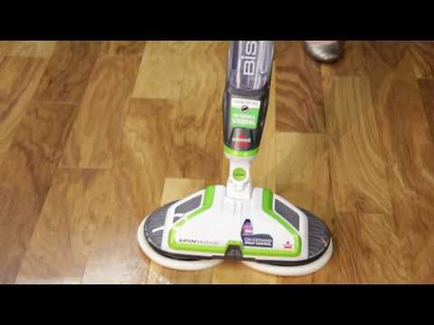 How to use the SpinWave™ Hard Floor Cleaner | BISSELL