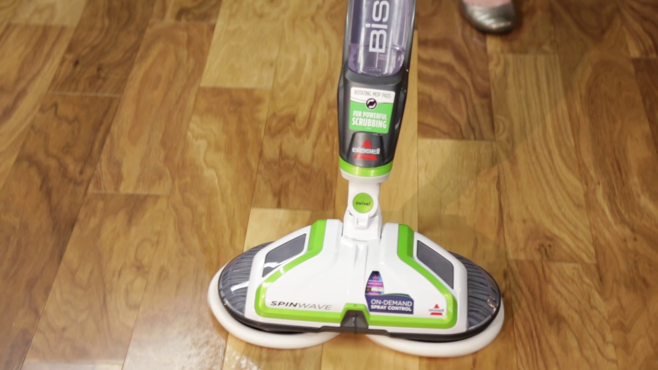 how to use the spinwave hard floor cleaner bissell