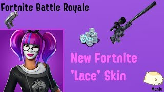 New Fortnite Skin 'Lace' - Playing Some games xD
