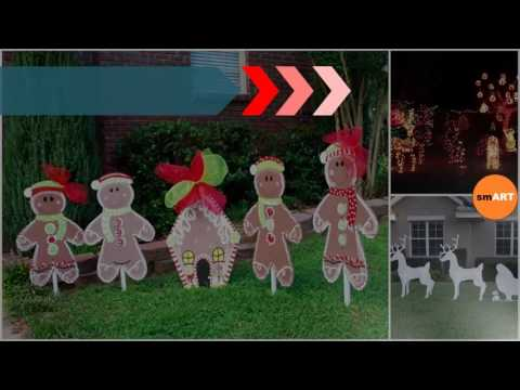 Christmas Lawn Ornaments - Christmas Lawn Decorations