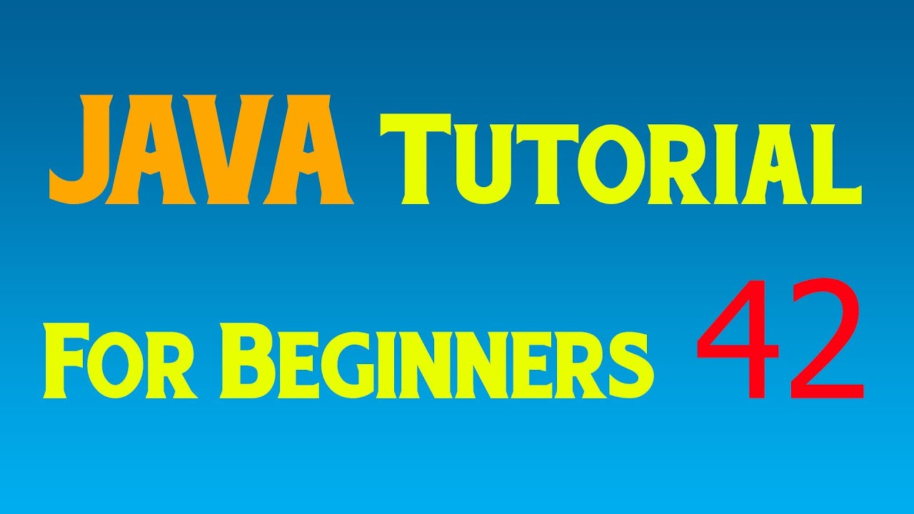 Java tutorial for beginners 42 gui setting up listener user java tutorial for beginners 42 gui setting up listener user events and input baditri Image collections