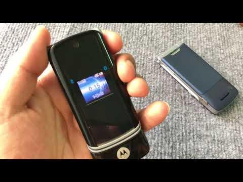 Điện thoại motorola K1 nắp gập nhỏ gọn - MADE IN USA