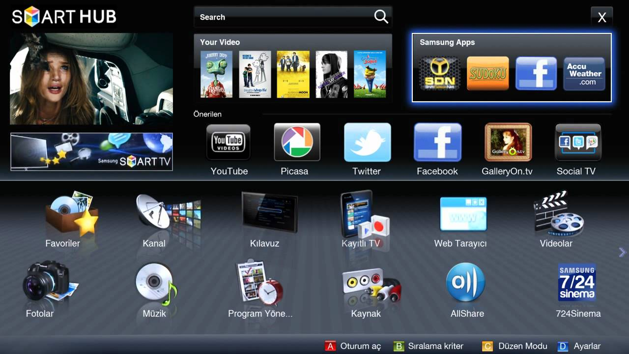 Samsung Apps Tv