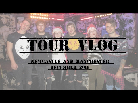 Tour vlog | ROOM 94 in Newcastle and Manchester, December 2016