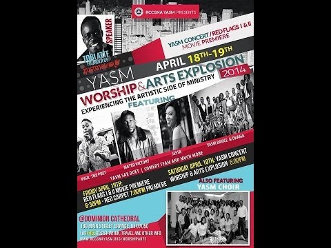 WORSHIP & ARTS EXPLOSION: Experiencing The Artistic Side of Ministry; Orange NJ (April 18-19, 2014)