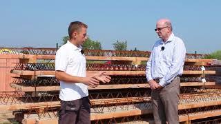 Příprava a realizace stropu Porotherm   Stropy   Wienerberger