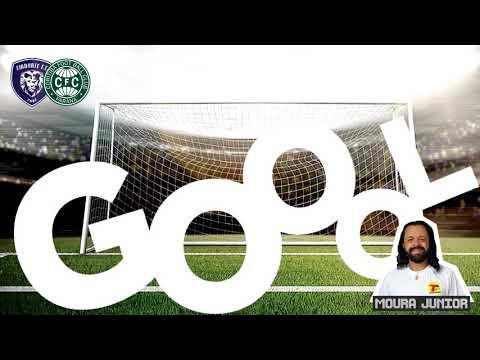 Gol do Coritiba, Giovane aos 41 minutos do 1º tempo Cianorte x Coritiba
