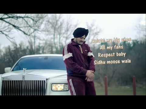 Just Listen Lyrics Video   Sidhu Moose Wala ft. Sunny Malton   BYG BYRD