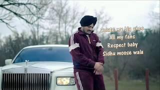 Just Listen Lyrics Video | Sidhu Moose Wala ft. Sunny Malton | BYG BYRD