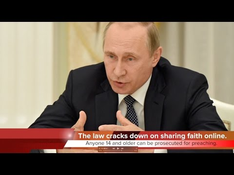 KTF News - Russia Restricts Religious Freedom