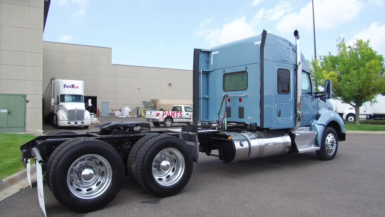 2016 Kenworth T880 52' commercial truck sleeper for sale STOCK # 361458