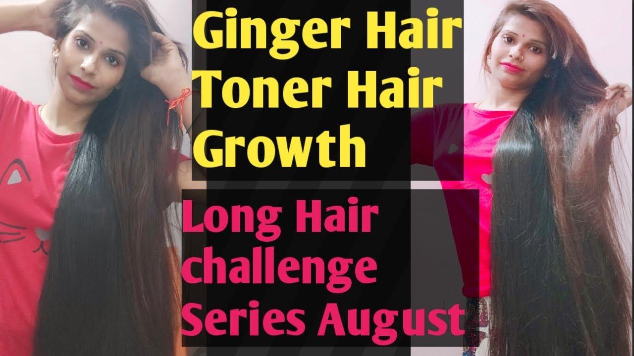 Homemade best hair regrowth Ginger hair toner