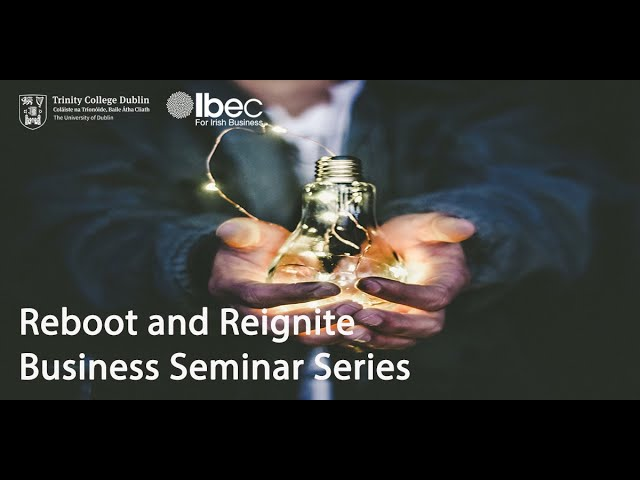 Digital strategies for rebooting & reigniting business - Reboot and Reignite Series Ep. 8