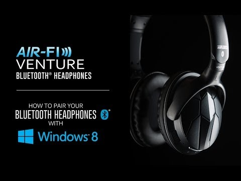 How To Pair Your Bluetooth Headphones With Windows 8 (MEE Audio Venture)