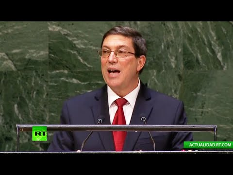 Discurso del canciller de Cuba, Bruno Rodríguez, en la 69ª Asamblea General de la ONU (COMPLETO)