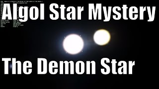 Algol Paradox and Mysteries - The Story of the Demon Star - Universe Sandbox²