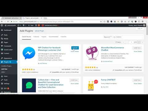 How To Add Facebook Customer Live Chat Widget To Wordpress Website