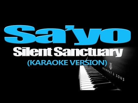 SA'YO - Silent Sanctuary (KARAOKE VERSION)