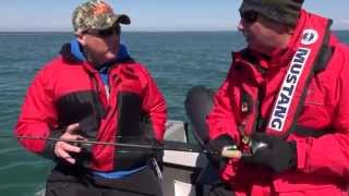 Trolling for Lake Ontario Brown & Lake Trout...